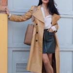 С чем одеть кожаную юбку: 8 смелых сочетаний