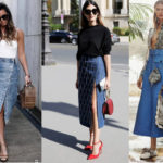 С чем одеть джинсовую юбку: 10 рекомендаций