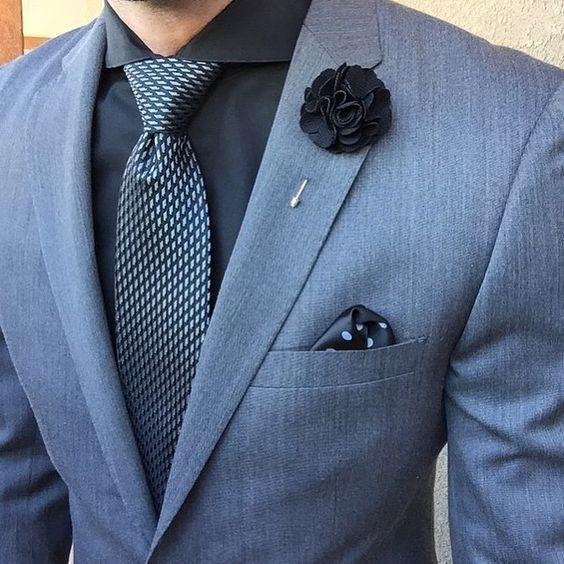 галстук к черной рубашке