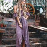 Летние платья в стиле бохо: шикарные модели