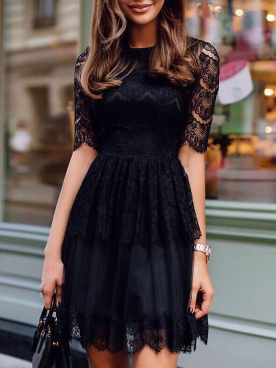 гипюровое платье фото