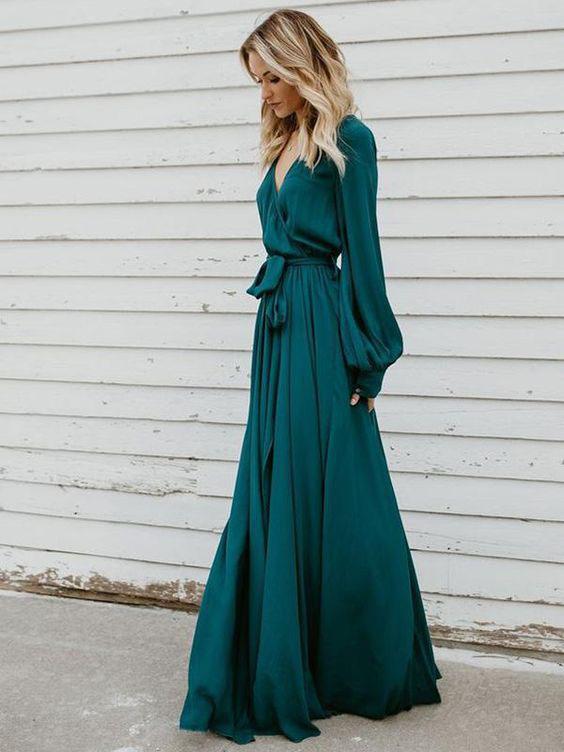длинное летнее платье в пол