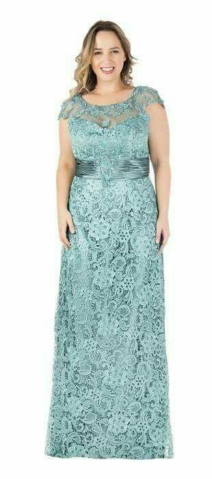 гипюровое платье для полных женщин