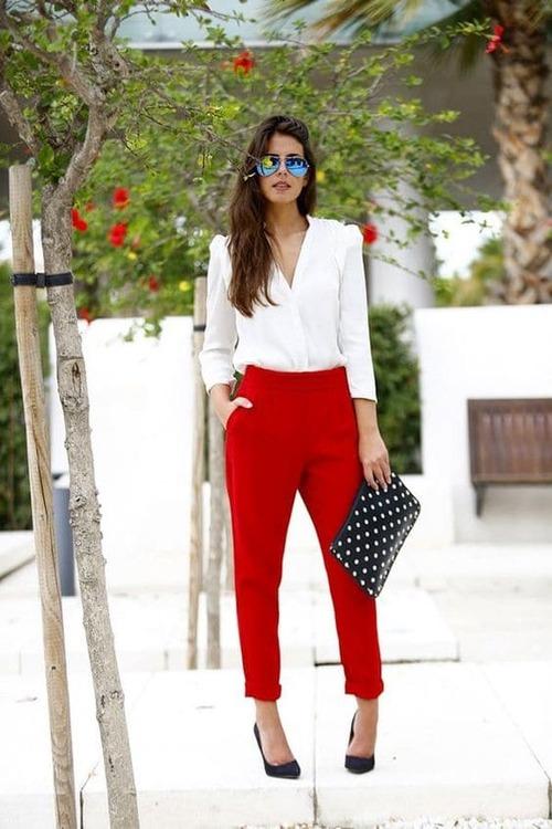 красные брюки (48)