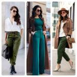 С какими цветами сочетается зеленый в одежде: 20 красивых комбинаций