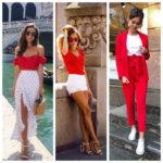 С какими цветами сочетается красный в одежде: 16 удачных комбинаций