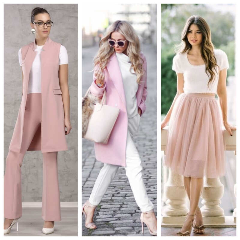 С какими цветами сочетается розовый в одежде: 22 вариации от стилистов