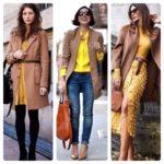 С какими цветами сочетается желтый в одежде: 19 удачных цветовых миксов