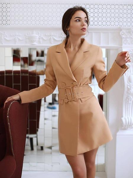 Платье Пиджак 2021 Трендовые Модели Фото