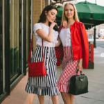 Что носить с юбкой в полоску: стильные сочетания для 5 фасонов