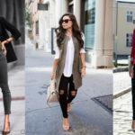 Что одеть с черными джинсами: 9 удачных сочетаний