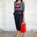 C чем одеть юбку карандаш: 5 модных советов