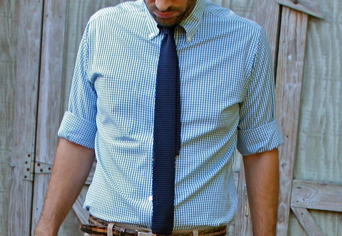 сочетание цвета галстука и рубашки