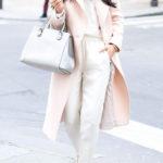 С чем носить пудровое пальто: 5 интересных решений