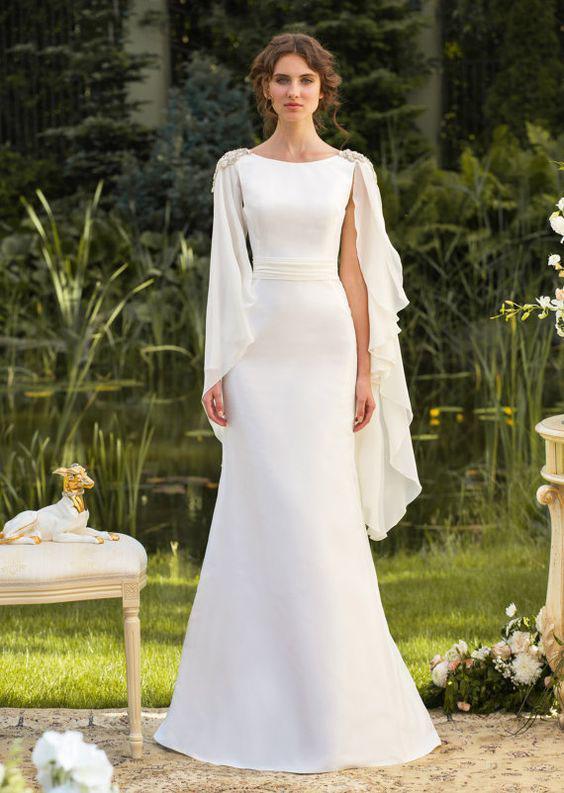 белое вечернее платье на свадьбу