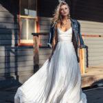 Белое вечернее платье в пол — эталон женственности и элегантности