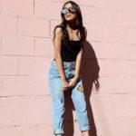 Джинсы мом с чем носить (80 фото): подчеркиваем фигуру и хороший вкус