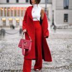 С чем носить красные брюки (женские): (80+ фото) советы и комплекты от стилиста