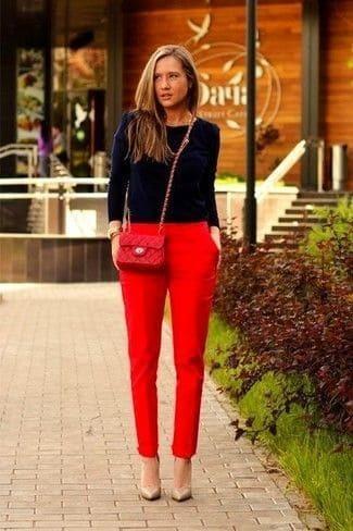 красные брюки (51)