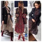 Платье с цветами: с чем носить (фото), 72 женственных и очаровательных образа