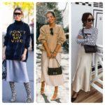 Платье-комбинация: с чем носить (75 фото), кому подходит, удачные образы