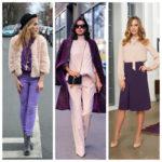 С какими цветами сочетается фиолетовый в одежде: 19 лучших «партнеров» по цветовому кругу + разбор оттенков