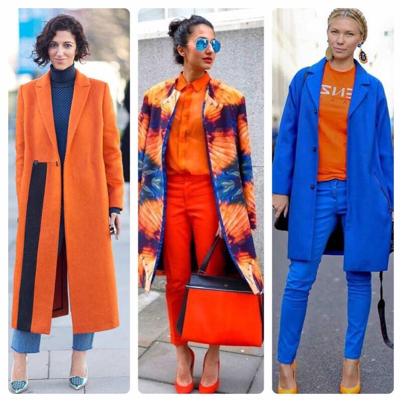 С какими цветами сочетается оранжевый в одежде: 20 лучших цветовых комбинаций + подбор оттенков